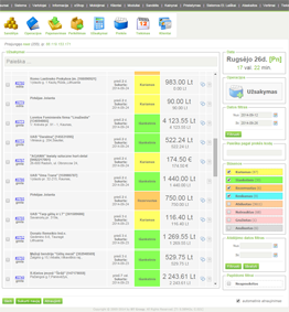 prekybos užsakymų valdymo sistemos palyginimas)